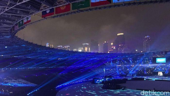 Foto: Penutupan Asian Games 2018 (Elza/detikcom)