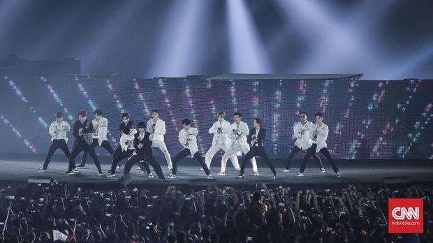 Super Junior mencetak sejarah baru sebagai musisi K-Pop pertama yang konser di Arab Saudi.
