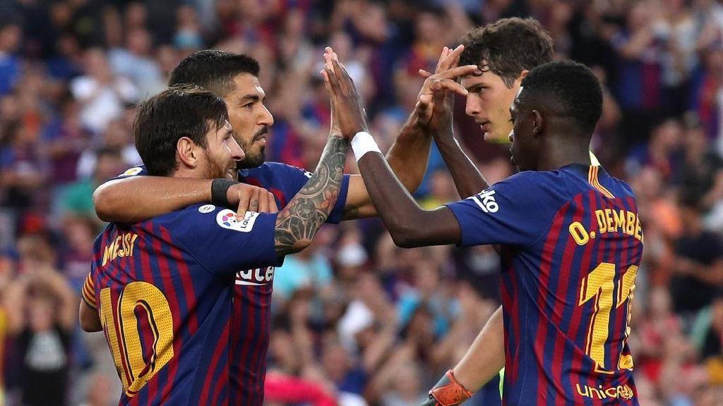 Punya Messi, Barca Kok Loyo di Liga Champions?