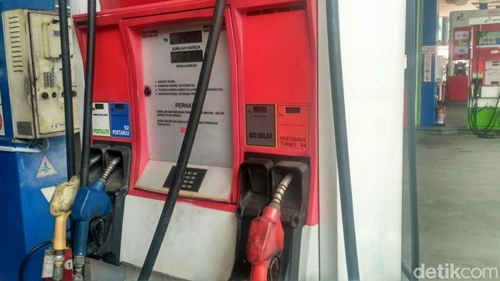 Beberapa SPBU mulai menjual biodiesel 20 persen atau B20. Foto: Achmad Dwi Afriyadi