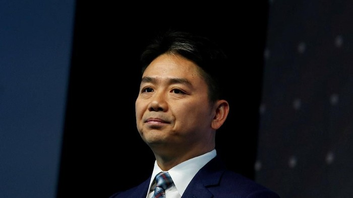 Richard Liu, bos JD.com yang diduga terlibat kejahatan seks. Foto: REUTERS/Bobby Yip/File Photo
