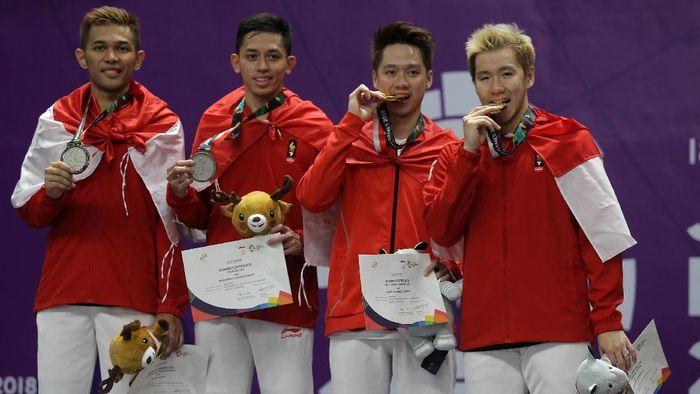 Para peraih medali Indonesia di Asian Games 2019 (detikcom)