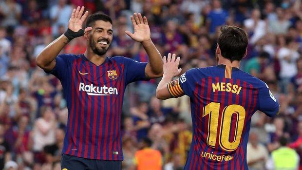 5 Rekan Terbaik Lionel Messi di Barcelona