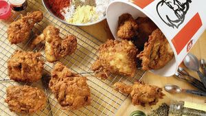 Terungkap! Ini Rahasia Dibalik Ayam Goreng KFC yang Renyah Gurih