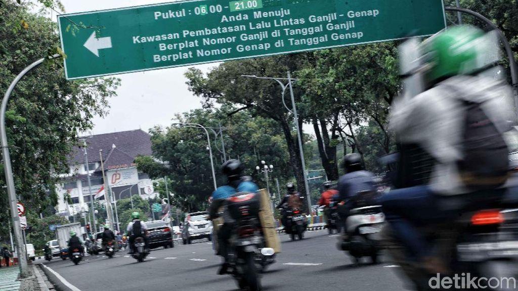 Ini Daftar Kendaraan yang Bebas Melintas di Ganjil-genap Jakarta