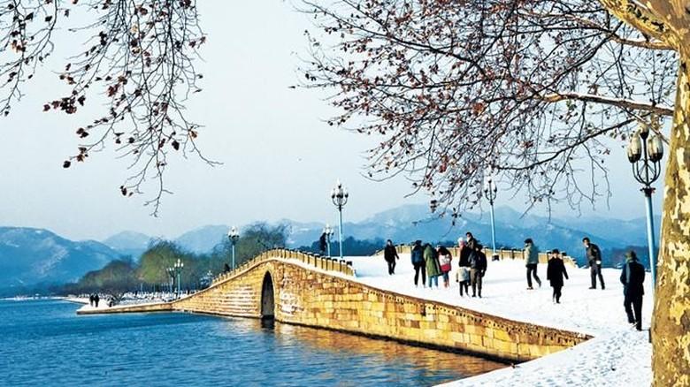 Kota Hangzhou yang akan jadi lokasi Asian Games 2022 (Hangzhou Travel)
