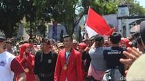6 Pesilat Peraih Emas Asian Games Disambut Bak Pahlawan di Garut