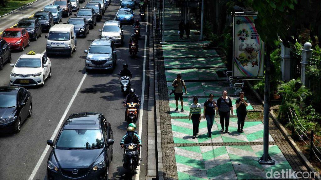 Hore! Dua Ruas Jalan Ini Tak Lagi Kena Ganjil genap Jakarta