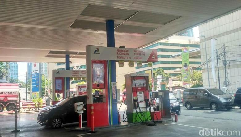 SPBU yang Mulai Jual Biodiesel 20%. Foto: Achmad Dwi Afriyadi