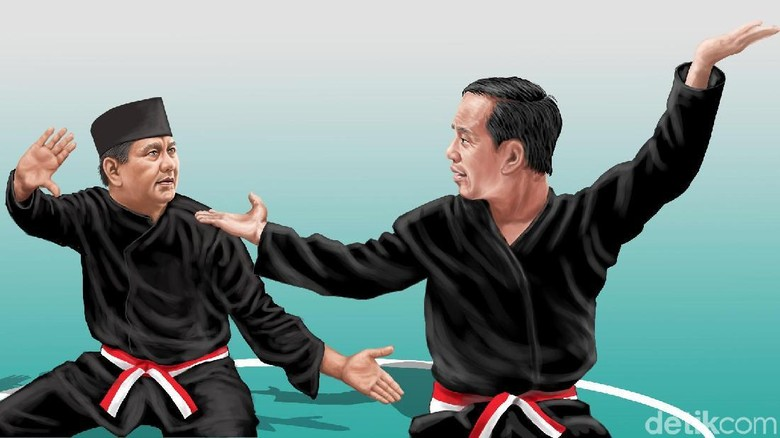 Jejak Pertarungan Jokowi Vs Prabowo di Tanah Minang