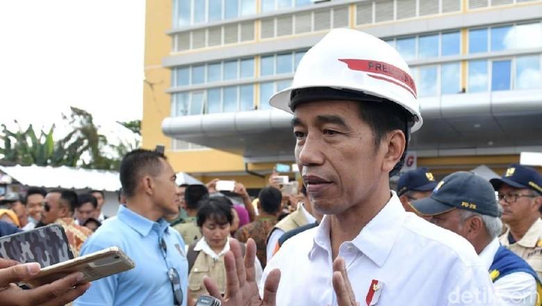 Jokowi Minta Perbaikan Sekolah-RS di NTB Selesai 2 Bulan