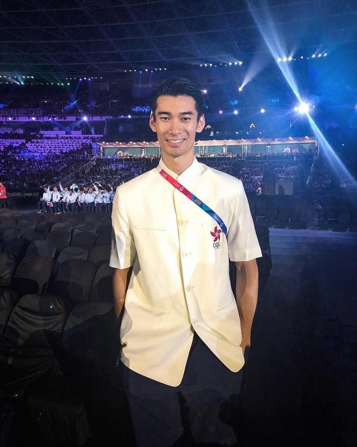 Sean datang ke Indonesia untuk tampil di Asian Games 2018 sebagai atlet voli. (Foto: Instagram/seanleems)