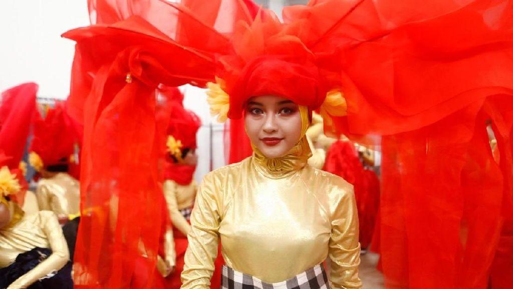 130 Makeup Artist Dandani 1.500 Pengisi Acara di Penutupan Asian Games