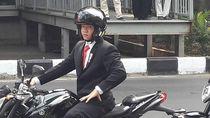 Heboh Jokowi Naik Moge Paspampres dan Stuntman Thailand