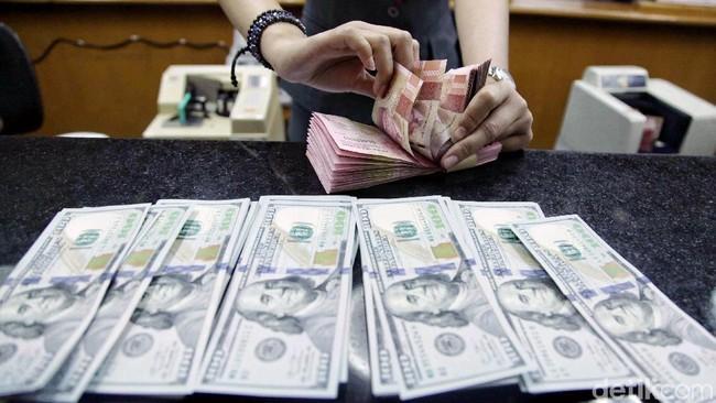 Ilustrasi rupiah menguat terhadap dolar AS/Foto: Pradita Utama