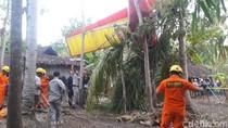 Foto: Kondisi Pesawat Latih yang Jatuh di Gunungkidul