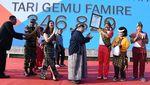 Panglima TNI Ikut Menari Gemu Famire untuk Pecahkan MURI