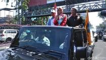 Sarah, Pesilat yang Raih Emas Asian Games Diarak Keliling Surabaya