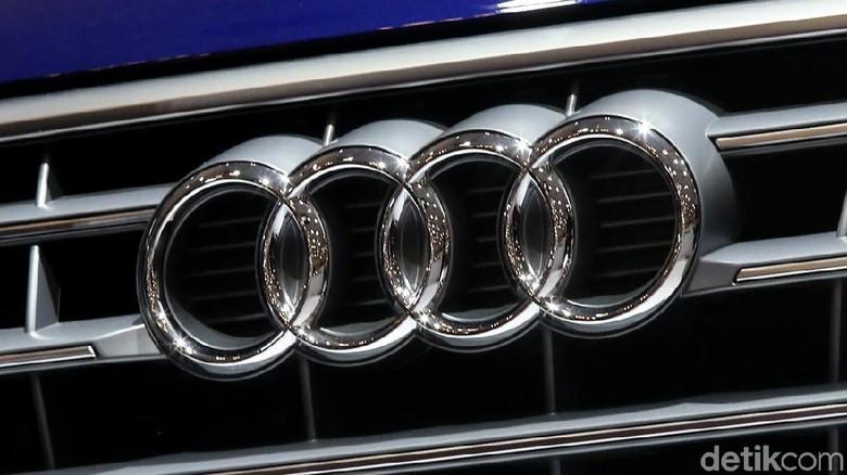 Logo Audi Foto: Ari Saputra