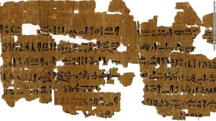 Resep obat tradisional berusia sekitar 3.500 tahun. (Foto: CNN)