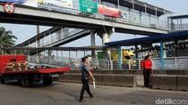 Ada Perbaikan JPO, Jl Daan Mogot Ditutup Dini Hari Ini