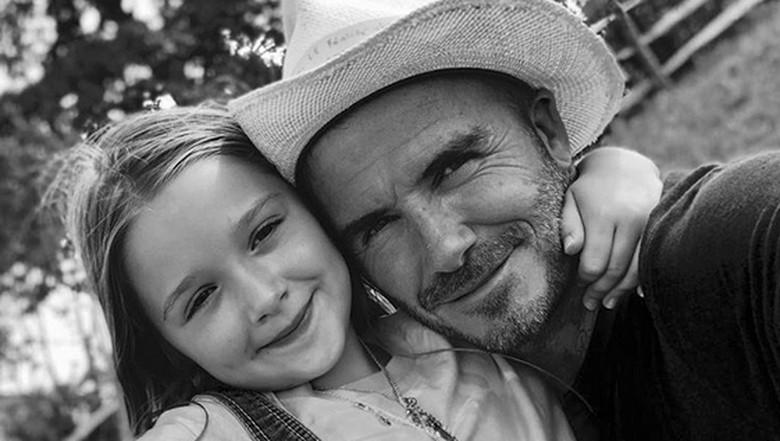 Momen Manis David Beckham Dibuatkan Sarapan oleh Putri Kecilnya/Foto: Instagram