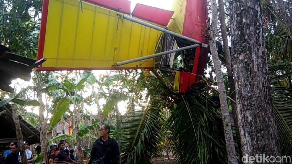 Pesawat Jatuh di Gunungkidul Milik Erix Soekamti, Keluaran 2006
