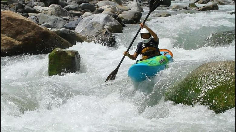 Arung jeram Sungai Prafi Manokwari