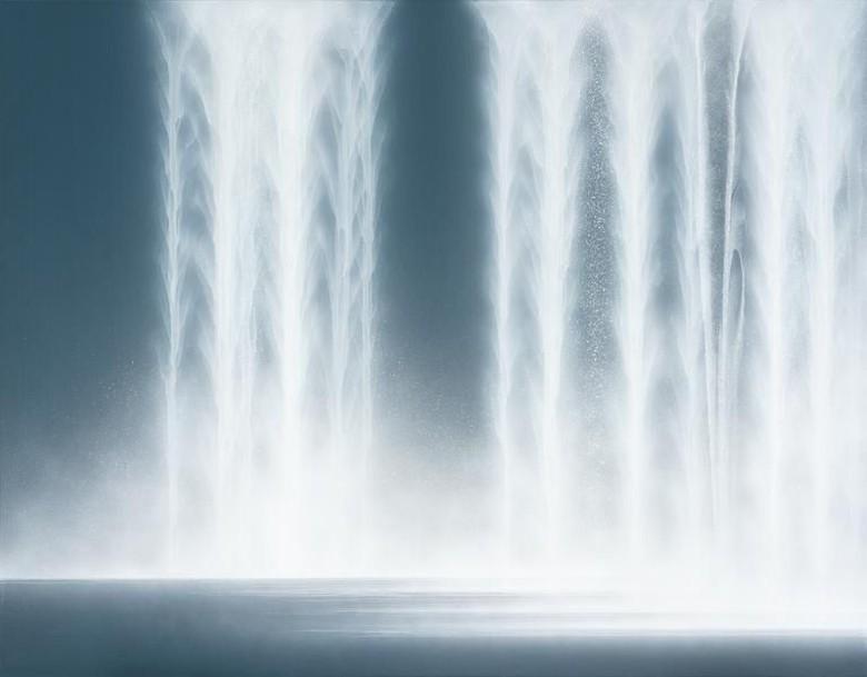28 Tahun Hiroshi Senju Melukis Air Terjun