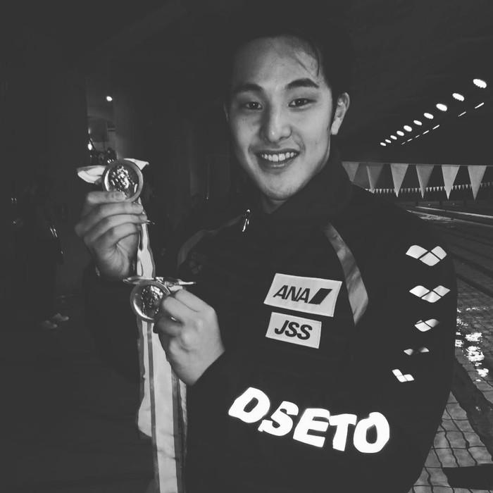 Daiya Seto merupakan perenang handal asal Jepang. Ia juga memiliki segudang prestasi sebagai perenang, melalui akun Instagramnya Daiya sering mengabadikan momen serunya saat makan. Foto: Instagram @daiya_seto