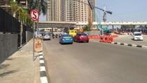 Proyek TPO dan JPO PIM Dimulai, Lalin Jl Kartika Utama Ramai Lancar