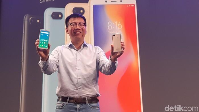 Peluncuran Xiaomi Redmi 6 dan 6A di Indonesia. Foto: Virgina Maulita Putri/detikinet