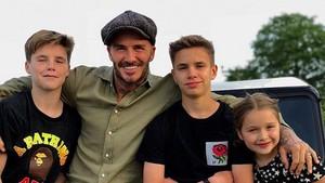 Wujud Cinta David Beckham untuk Buah Hatinya