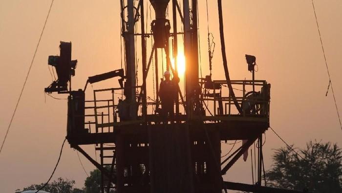 Tambang minyak Pertamina EP di Bojonegoro.