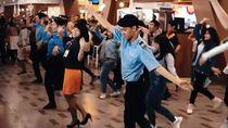 Cerita di Balik Flashmob Asian Games Bandara Bandung yang Viral