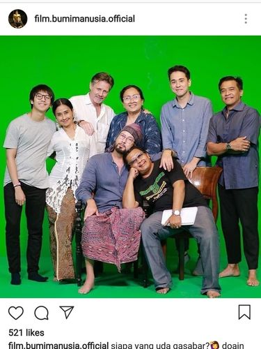 Teaser Para Pemain 'Bumi Manusia' Selain Iqbaal Ramadhan