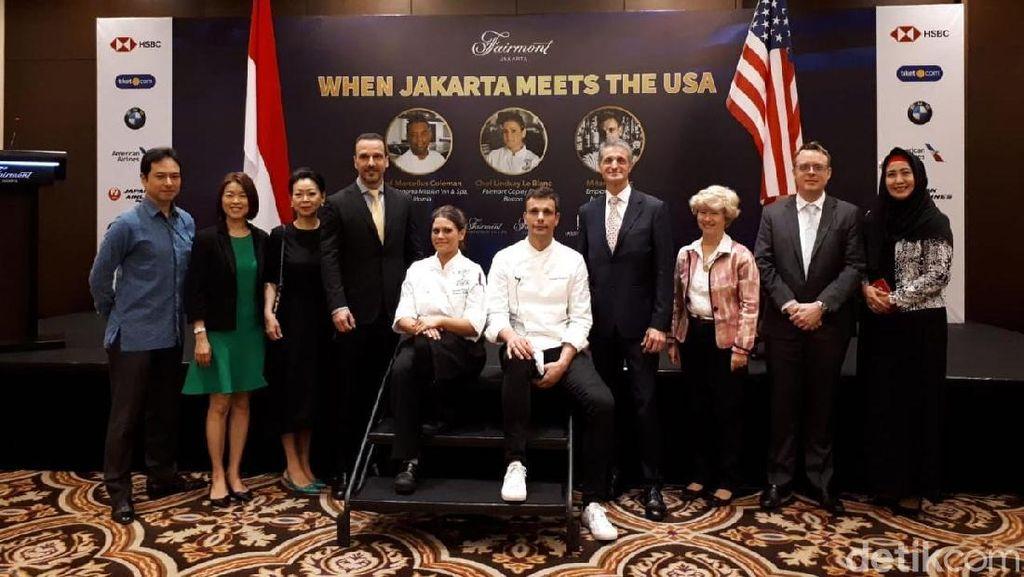 Manhattan Cocktail dan NY Cheesecake Bisa Dicicip di When Jakarta Meets the USA