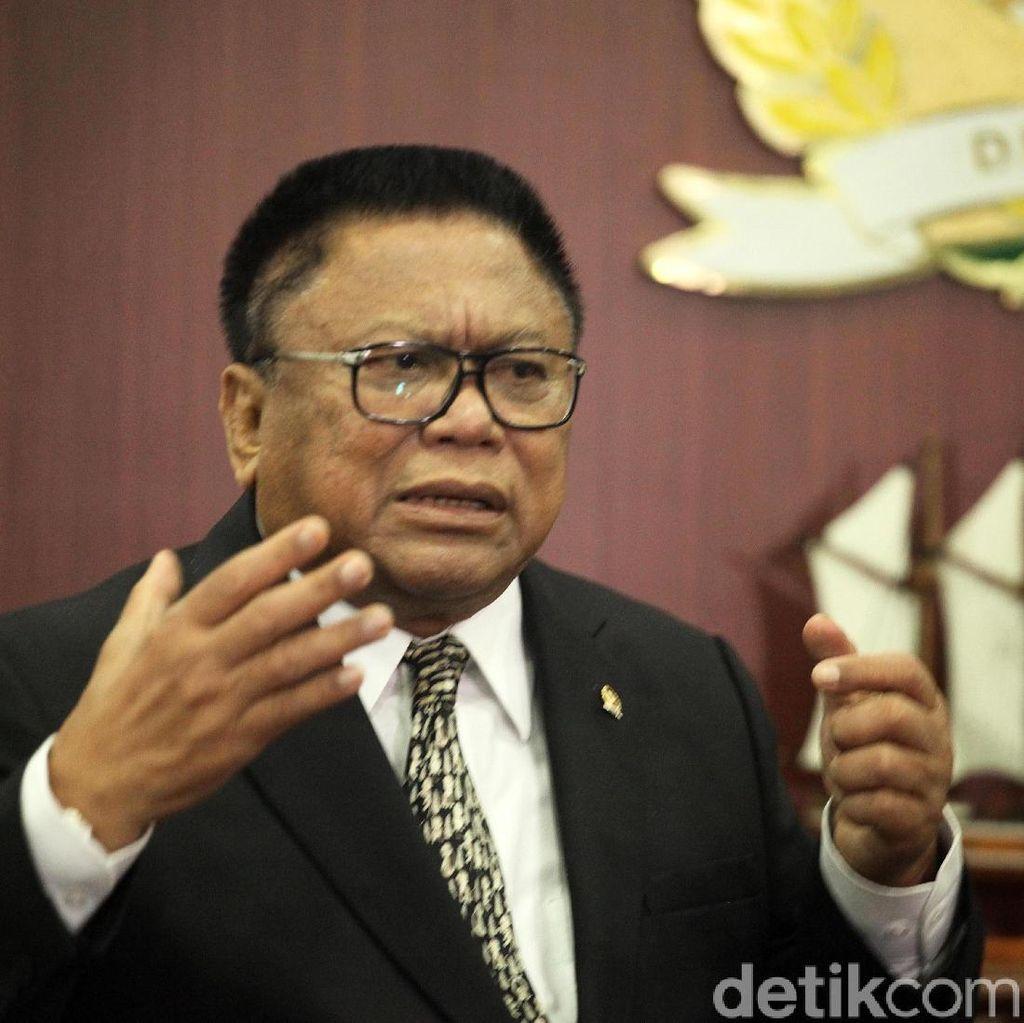 Inikah Akhir Perjalanan OSO di Senayan?