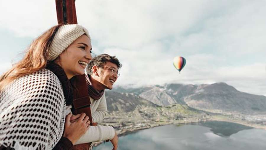 Mesranya Nadine dan Dimas Anggara Saat Bulan Madu di New Zealand