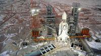 Baikonur Cosmodrome, bandara antariksa di padang pasir Kazakhstan (SVF2/UIG/Getty Images/CNN Travel)