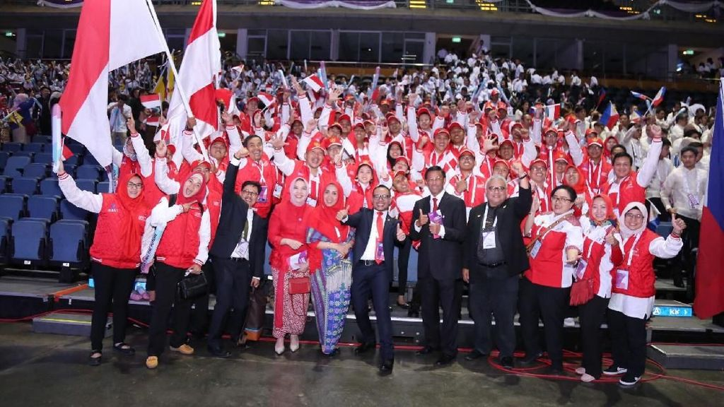 Indonesia Raih 13 Emas di ASEAN Skills Competition Thailand