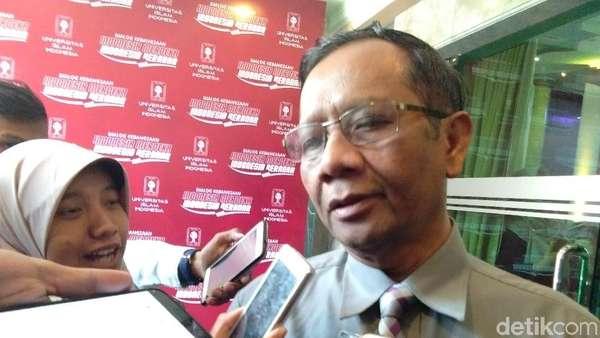 Erick Thohir Jadi Ketua Timses Jokowi, Mahfud MD: Bagus