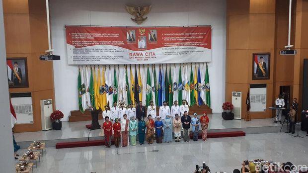 Mufidah Kalla Minta 9 Istri Gubernur Kembangkan Kerajinan Nusantara