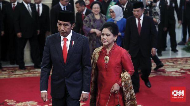 Kebaya Iriana Jokowi