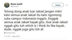 Stereotipe anak Jaksel yang dibilang suka campur bahasa lagi ngetren. Tapi jangan salah, kemampuan bilingual berhubungan juga dengan fungsi kognitif!