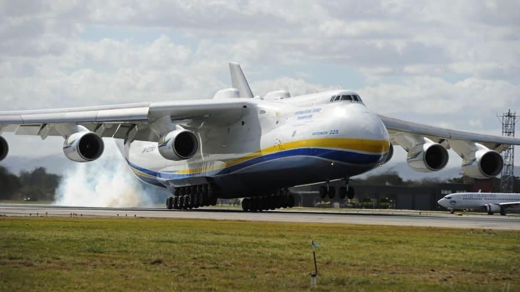 Foto: Kembaran Pesawat Terbesar Dunia