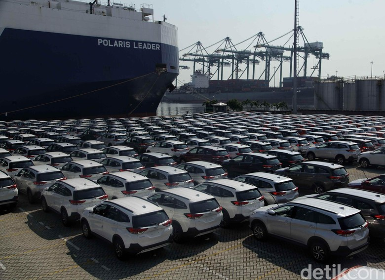 Ekspor Mobil Toyota. Foto: Pradita Utama