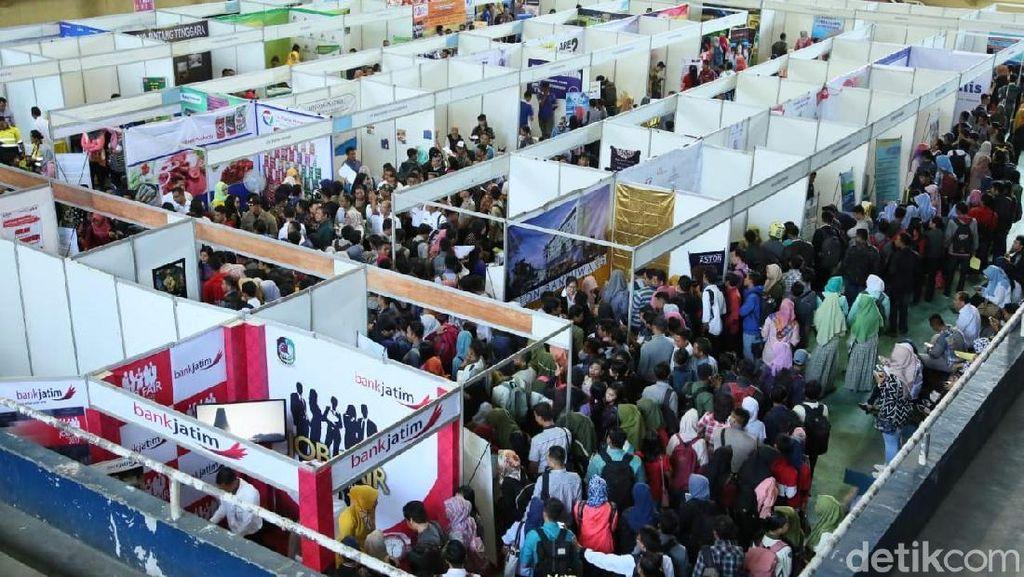 Ada 1.605 Loker Tersedia di Job Fair BLK Makassar