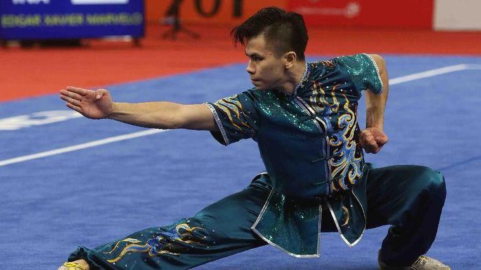 Pelatnas Wushu dimulai Maret ini di Gelora Bung Karno. (Foto: ANTARA FOTO/INASGOC/ Gino  F Hadi/nak/18)