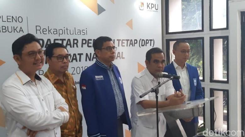 Serahkan 25 Juta Data Pemilih Ganda, Koalisi Prabowo-Sandi ke KPU